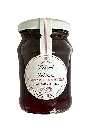 Geléia de Frutas Vermelhas Vermont 230g - Ideal para Queijos