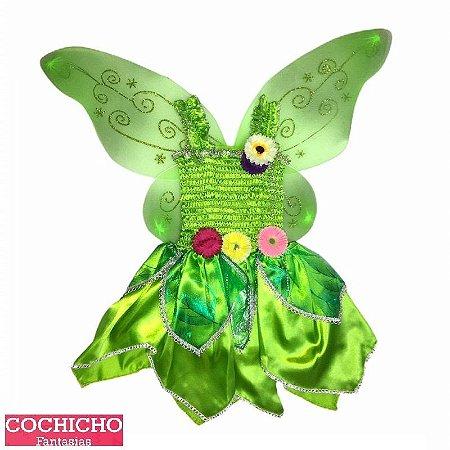Fantasia Green Stretch Infantil