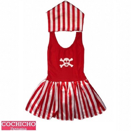 Fantasia Pirata Listrada Infantil
