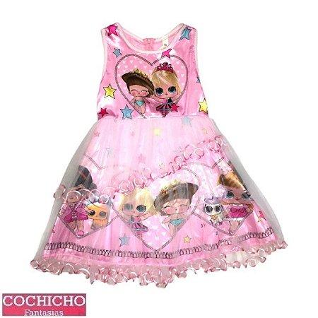Fantasia Boneca Princesa Infantil