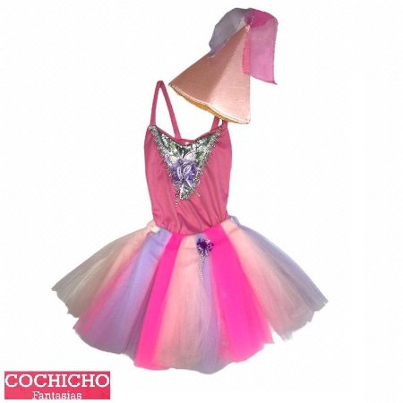 Fantasia Bailarina Tule Infantil