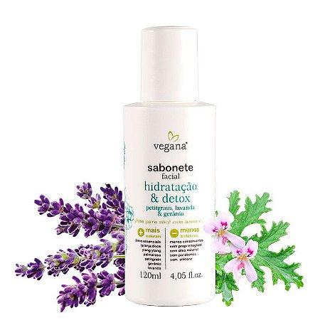 Sabonete Líquido Facial - Hidratação e Detox