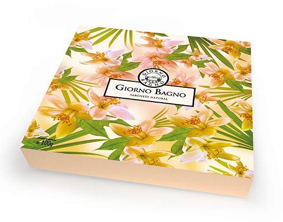 Kit de Sabonete Flor de Laranjeira com 4