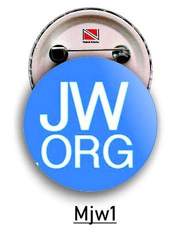 10 Botons Personalizados 5,5 cm JW
