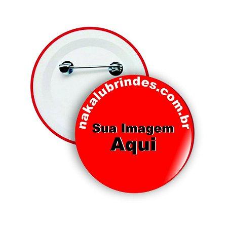 Boton Button Botton Personalizados - 2,5cm - 50 Peças