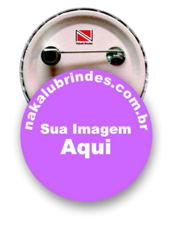 500 Botons Personalizados 2,5 cm