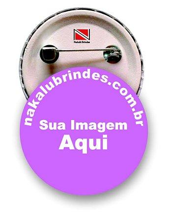 500 botons personalizados 4,5 cm
