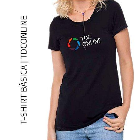 VISCOLIGHT PRETA BABY LOOK | TDC ONLINE