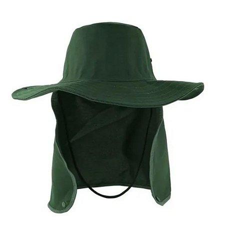 Chapéu Pescador Árabe Com Protetor de Nuca Brim