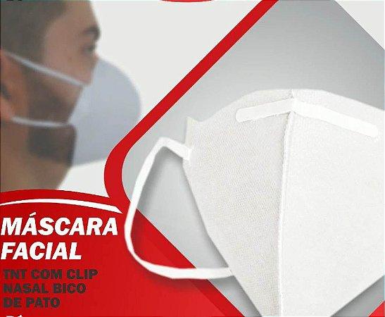 Respirador Em TNT Bico de Pato com Clipe Nasal Gr100