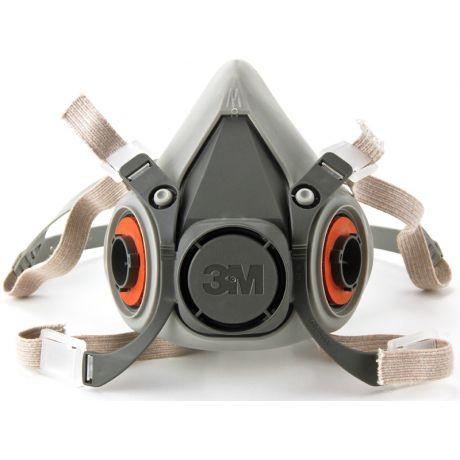 Respirador Semifacial 3M Série 6000 CA 4115