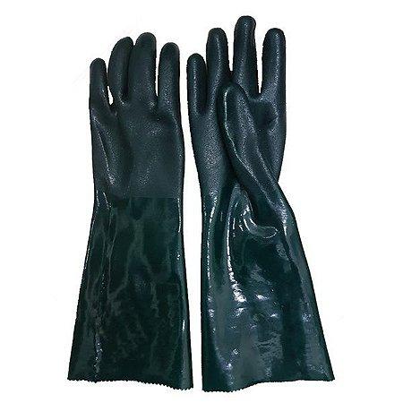 Luva Pvc Handschuhe 35cm Forrada Palma Áspera CA 1170