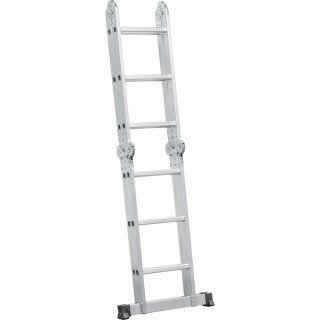 Escada Articulada 3x4 Alumínio 12 Degraus Vonder