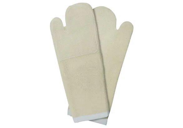 Luva Térmica Mão de Gato Cru Cano Longo Dupla Grafatex 50cm 34dp CA 37290