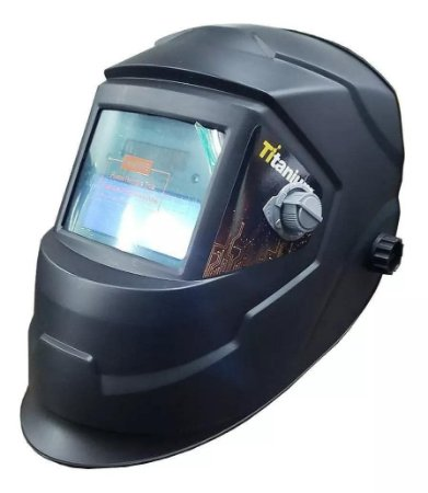 Máscara de Solda Com Visor Auto Escurecimento Titanium Ton 9 a 13 CA 38202