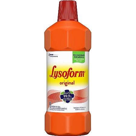 Lysoform Desinfetante Líquido Bactericida 1 Litro Original