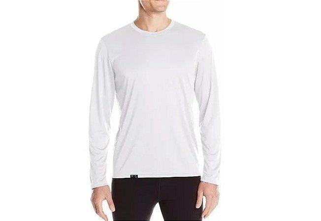 Camiseta Proteção Solar Uv-a E Uv-b Branco