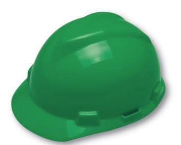 Casco Capacete Msa Verde