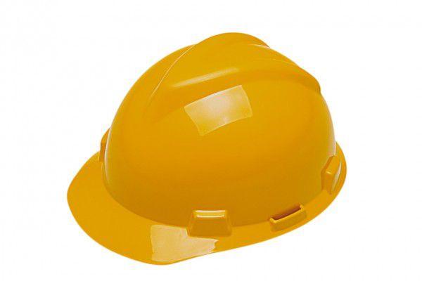 Casco Capacete Msa Amarelo CA 498