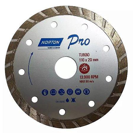 Disco Diamantado Pro Turbo 110mm Norton