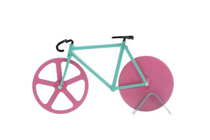 Cortador De Pizza Bike Rosa