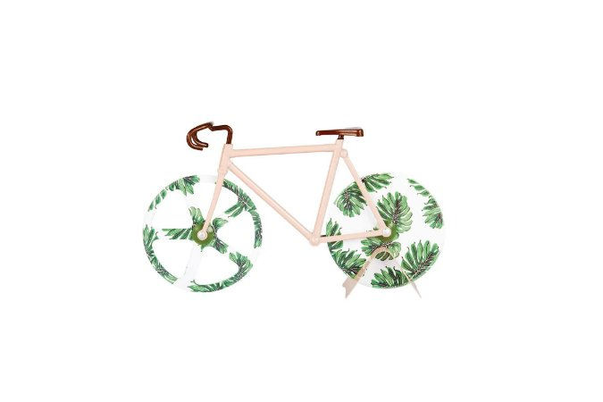 Cortador De Pizza Bike Tropical Vintage