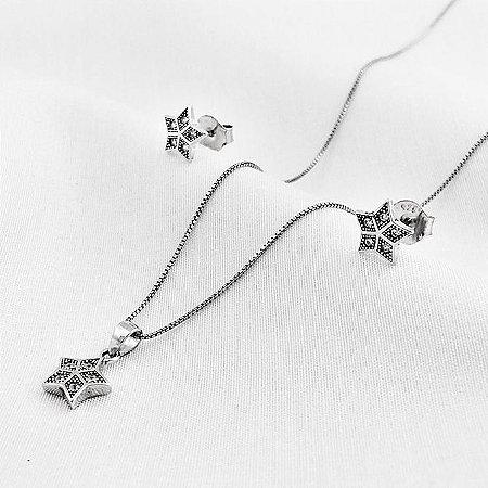 Conjunto de Prata Estrela