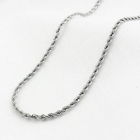 Corrente Aço Corda de 1,5 mm com 50 cm