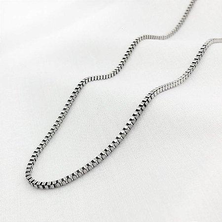 Corrente de Aço Veneziana de 1,3 mm com 65 cm