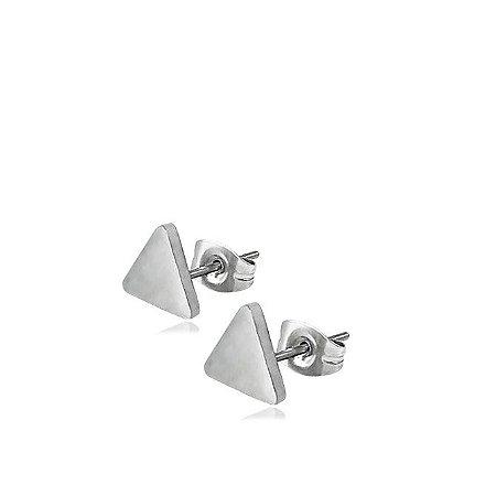 Brinco de Aço Triângulo