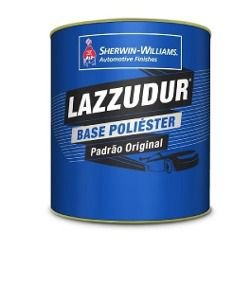 BASE POLIÉSTER LM413 VERMELHO TRANSPARENTE (0,9L) LAZZUMIX