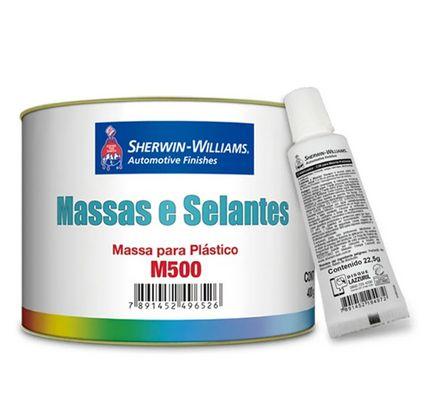 MASSA P/ PLASTICO M500 C/ CATALISADOR A+B 289g LAZZURIL