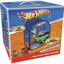 Barraca Infantil Hot Wheels C/ 50 bolinhas