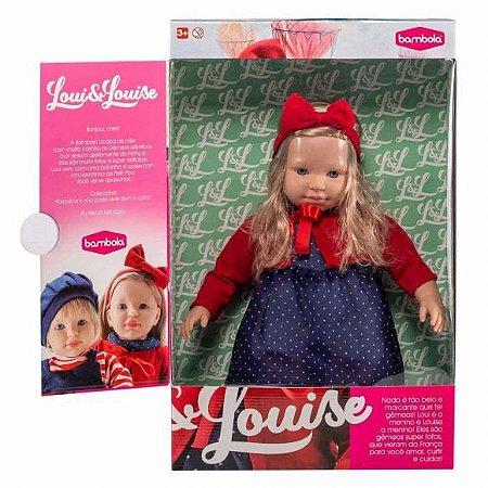Boneca Gêmea Louise C/ Cabelo