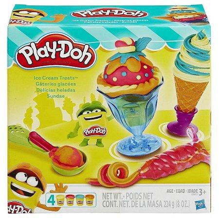 Sundae Play-Doh