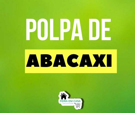 Abacaxi (polpa) 1kg