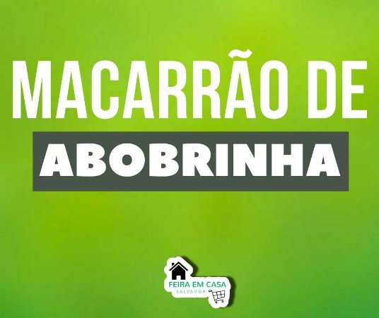 Macarrão de Abobrinha (300g)