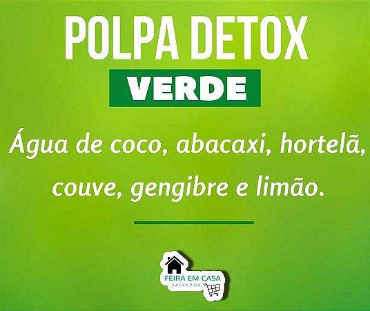 Polpa Detox Verde