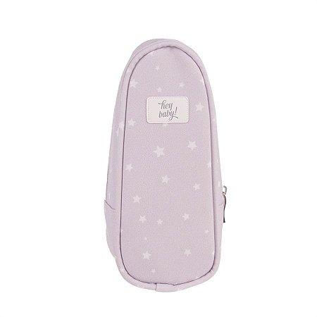 Porta Mamadeira Térmico Star Cinza - Just Baby