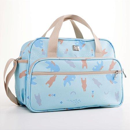Bolsa Maternidade Fábula Azul - Just Baby