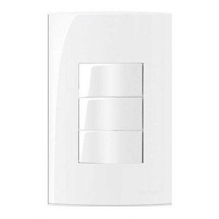 Conjunto MarGirius Sleek 3 interruptores simples - 16010