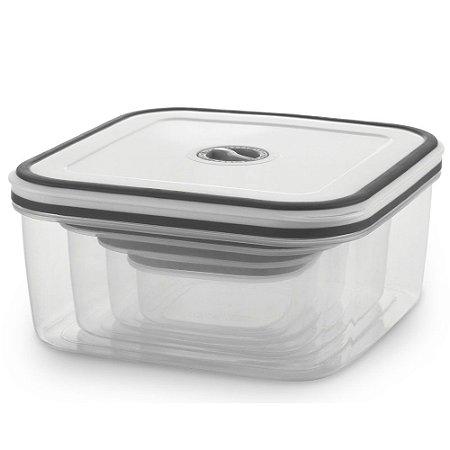 Conjunto 4 Potes herméticos de plástico Electrolux