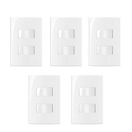5 Conjuntos MarGirius Sleek 2 Interruptores Paralelos separados 10A - 15817