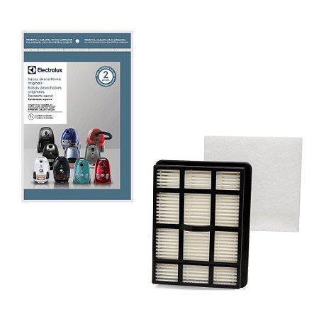 Kit Filtro Hepa + 3 Sacos para Aspirador de Pó Electrolux Equipt EQP01 e EQP02