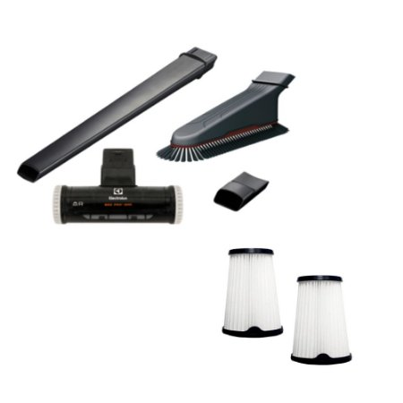 Kit Bocais Especiais + Filtros para Ergorapido ERG26 / ERG27 Electrolux