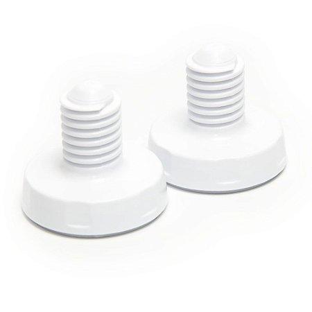 2 Pés Niveladores Electrolux para Lavadora de Roupas