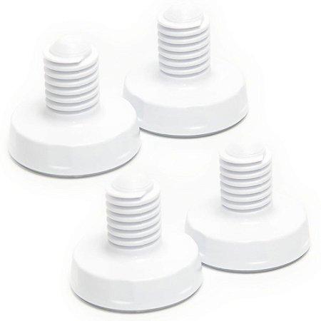 4 Pés Niveladores Electrolux para Lavadora de Roupas