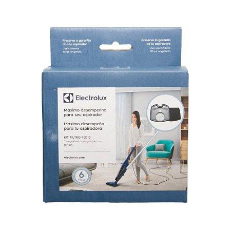 Kit com Filtros para Aspirador vertical Electrolux DYN10 (FED10)