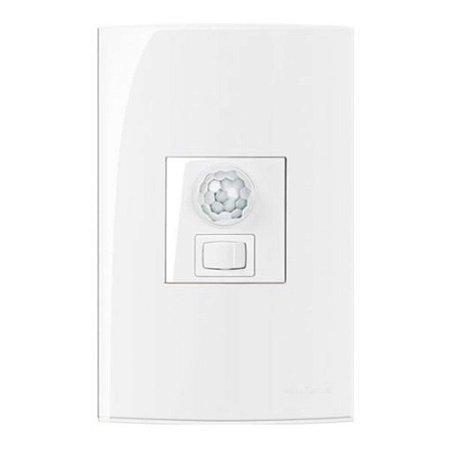 Conjunto Sensor de presença bivolt com interruptor MarGirius Sleek - 15991