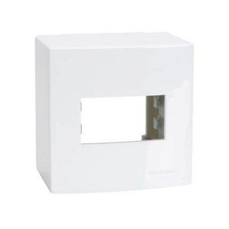 Caixa de sobrepor 75x50x75mm - 1 posto MarGirius Sleek - 18643